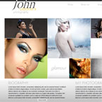 Fashion Photography Flash XML template