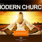 Church flash website templates