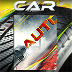 Car review flipbook template