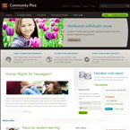 Community Plus Joomla template