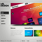 Pro Web Design Flash CMS