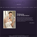 Bridal Salon Website Template