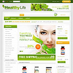 Herbal Store Prestashop Template