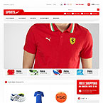 Elite Sportswear Prestashop Template