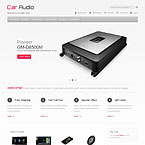 Car Sound Systems Magento Template