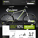 Sporting Goods Prestashop Template
