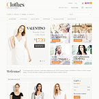 Stylish Outfit Prestashop Template