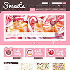Yummy Candies Oscommerce Template