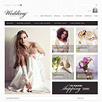 Bridal Salon Zencart Template