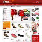 Shoes & Footwear Prestashop Template