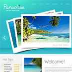 Traveling Guide Website Template