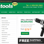 Drill Tools & Equipment Magento Template