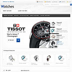 Swiss Watches Magento Theme