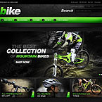 Bicycle Store Magento Theme