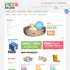 Pets Store Magento Template