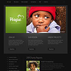 Charity Website Design Template