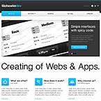 Communication Internet Website Template