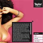 Taylor Photography Website Template