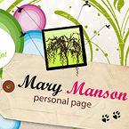 Mary's Page Facebook Timeline