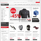 Scuba Diving Equipment Magento Theme