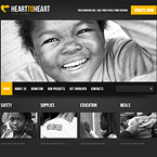 Charity Mission Website Template