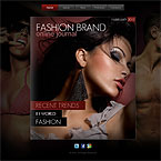 Fashion Models Jquery FlipBook Template