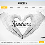 Kindness Website Template