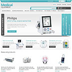 Medical Equipment Prestashop Template