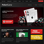 Poker Responsive Html Template
