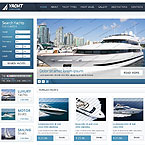 Yacht Chartering Website Template