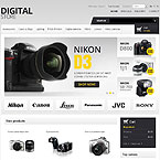 Photographer Equipment Prestashop Theme