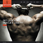 Bodybuilding and Fitness  Template For Joomla