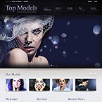 World Famous Model Agency Joomla Template