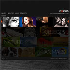 Pictures Portfolio XML Flash Template