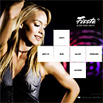 Night Club Flash Web Template