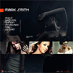 Models Photo Portfolio Flash CMS Template