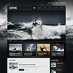 Surfing Blog Wordpress Theme
