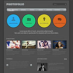 Photography Folio Responsive Web Template