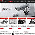 Security and Protection Website Template