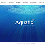 Aquarium Website Template