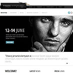 Writer Personal Page Website Template