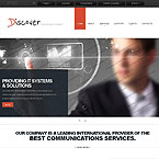Discover Corporate Site Template
