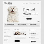 Dogs Train Site Template