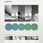 Industrial Corporate Theme For Wordpress