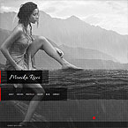 HTML Gallery and Blog Template