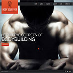 Bodybuilding Wordpress Theme