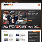 Sporting News Joomla Template