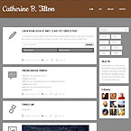 10 in 1 Minimalist Tumblr Theme