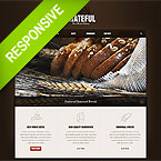 Bread Bakery Responsive Web Template