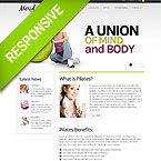 Pilates Studio Fully Responsive Template